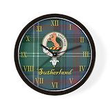 Sutherland Wall Clocks