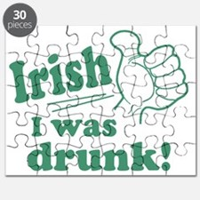 Irish I Was Drunk Puzzle