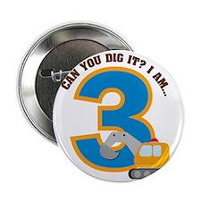 "Digger3rdBirthday 2.25"" Button"