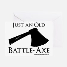 battleaxe2 Greeting Card