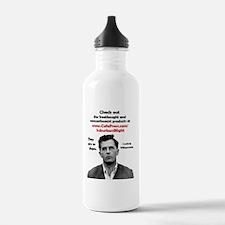 Wittgenstein SB round Water Bottle