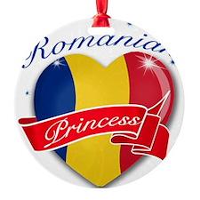 romania Round Ornament