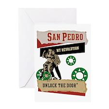 San Pedro Greeting Card