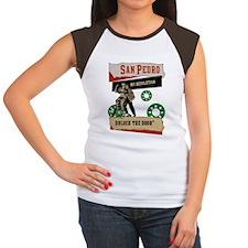 San Pedro Women's Cap Sleeve T-Shirt