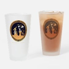 Oedipus and the Sphinx T Drinking Glass
