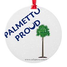 palmetto proud webaddress copy Ornament