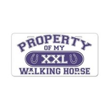 walkinghorseproperty Aluminum License Plate