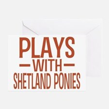 playsshetlandponies Greeting Card