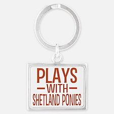 playsshetlandponies Landscape Keychain