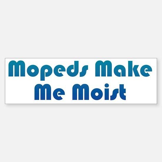 MoistMoped2 Sticker (Bumper)