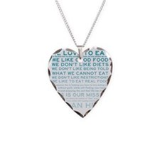 Food_manifesto_teal_product Necklace