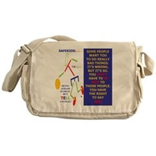 Do not have to be nice-TELLY Messenger Bag