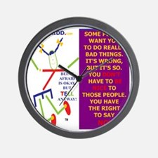 Do not have to be nice-TELLi Wall Clock