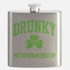 Green Drunky Flask