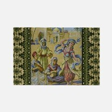 Dance Tapestry Rectangle Magnet