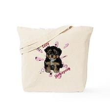 iloveyorkipeoos2 Tote Bag