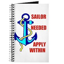 SAILOR NEEDED Journal