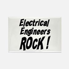 Electrical Engineers Rock ! Rectangle Magnet (100