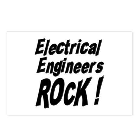 Electrical Engineers Rock ! Postcards (Package of