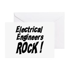 Electrical Engineers Rock ! Greeting Cards (Packag