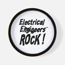 Electrical Engineers Rock ! Wall Clock