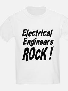 Electrical Engineers Rock ! Kids T-Shirt