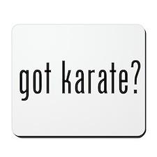 got karate? Mousepad
