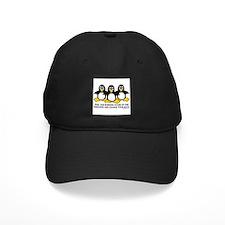 Burning Stare Penguins Baseball Hat