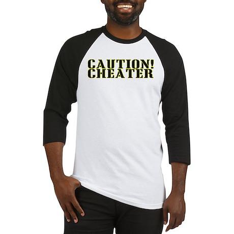 Caution! Cheater Baseball Jersey
