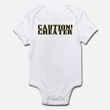 Caution! Cheater Infant Bodysuit