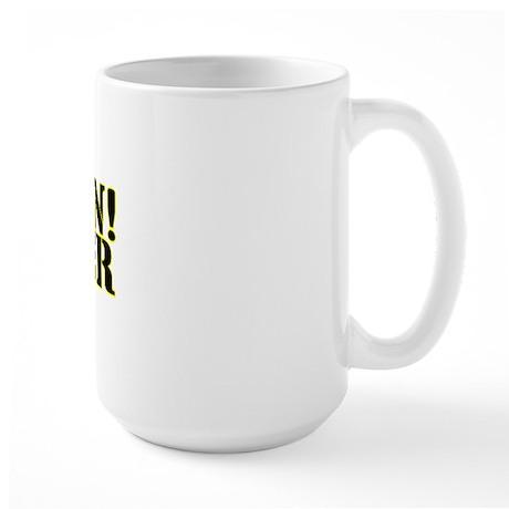 Caution! Cheater Large Mug