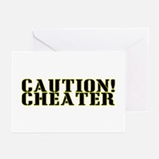 Caution! Cheater Greeting Cards (Pk of 10)