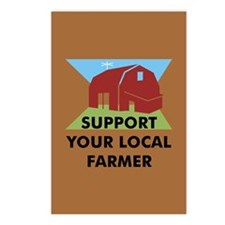 Support Your Local Farmer Postcards (Package of 8)