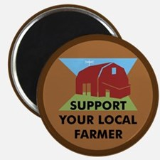 Support Your Local Farmer Magnet