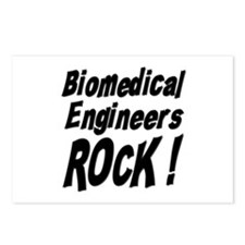 Biomedical Engineers Rock ! Postcards (Package of