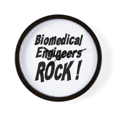 Biomedical Engineers Rock ! Wall Clock