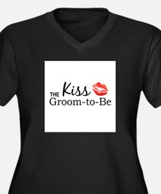 Kiss the Groom-to-be Plus Size T-Shirt