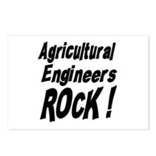Agricultural Engineers Rock ! Postcards (Package o