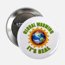 Global Warming Its Real Button