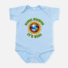 Global Warming Its Real Infant Bodysuit