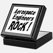 Aerospace Engineers Rock ! Keepsake Box