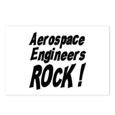 Aerospace Engineers Rock ! Postcards (Package of 8