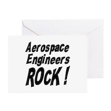 Aerospace Engineers Rock ! Greeting Cards (Package