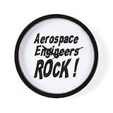 Aerospace engineer Wall Clocks