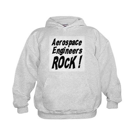 Aerospace Engineers Rock ! Kids Hoodie