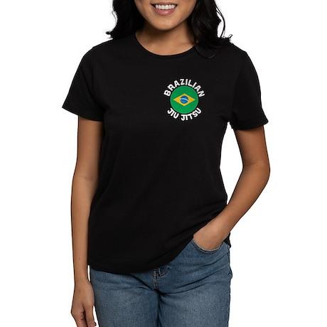 """BJJ"" Brazilian Jiu Jitsu - Women's Dark"