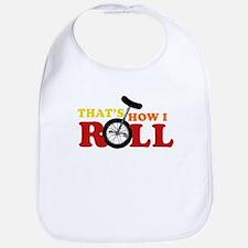 Thats how I roll Bib