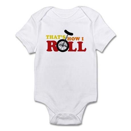 Thats how I roll Infant Bodysuit