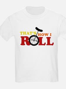 Thats how I roll Kids T-Shirt