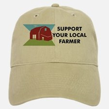 Support Your Local Farmer Baseball Baseball Cap